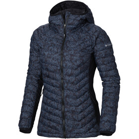 Columbia Powder Lite Light Hooded Jacket Women Black Edelweiss